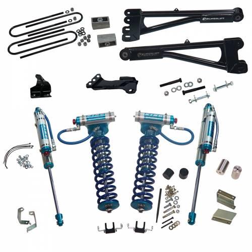 "Superlift - Superlift Suspension Lift Kit, Ford (2008-10) F-250/F-350 6.7L Diesel 4x4, 4"" King Coilover Lift Kit"