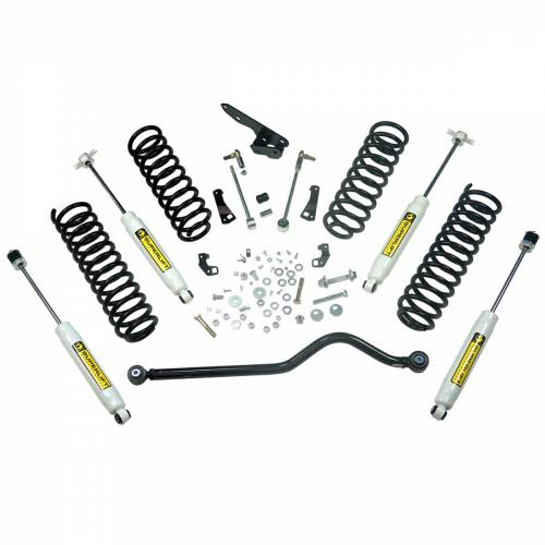 Superlift - Superlift Suspension Lift Kit, Jeep (2007-17) Wrangler JK 2-Door