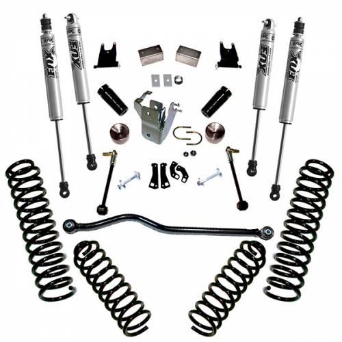 Superlift - Superlift Suspension Lift Kit, Jeep (2007-17) Wrangler JK 4-Door With Fox Shocks