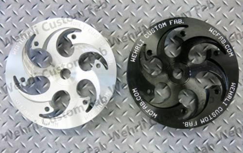 Werhli Custom Fabrication - Wehrli Custom Fab CP3 Pulley, Chevy/GMC (2001-16) 6.6L Duramax (Shallow Offset)