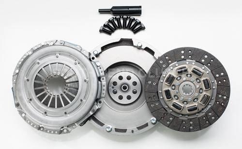 South Bend Clutch - South Bend Clutch  HD Solid Single Flywheel Conversion Kit, Chevy/GMC (2001-05) 6.6L Duramax, 375hp Organic