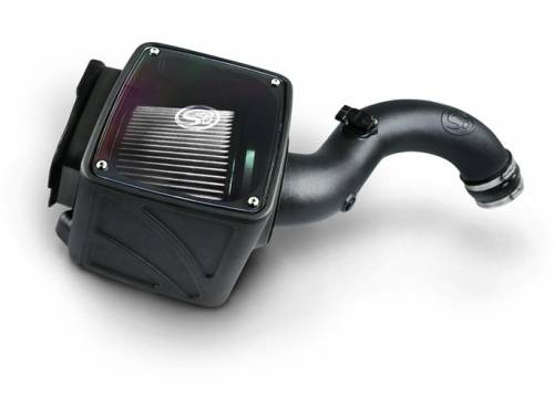 S&B - S&B Air Intake Kit, Chevy/GMC (2001-04) 6.6L LB7 Duramax, Dry Extendable Filter
