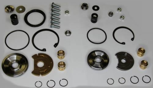 AVP - AVP Turbo Rebuild Kit, Ford (2008-10) 6.4L Power Stroke, High & Low Pressure Turbos (360* Bearing Kit)