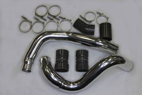 AVP - AVP Intercooler Piping and Boot Kit, Ford (2003-07) 6.0L Power Stroke (Polished)