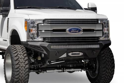 Addictive Desert Designs - Addictive Desert Designs Stealth Fighter Front Bumper, Ford (2017-18) F-250/F-350