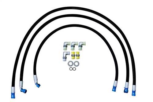 """Deviant Race Parts - Deviant Race Parts, Transmission Cooler Repair Lines, GM (2011-14) 6.6L Duramax LML (1/2"""")"""