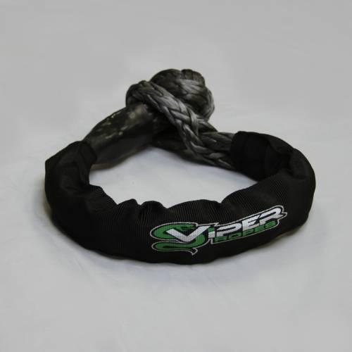 """Viper Ropes - Viper Ropes, Soft Shackle 7/16"""", Grey"""