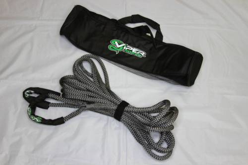 """Viper Ropes - Viper Ropes 1/2"""" x 30' Off-Road Recovery Rope, Grey"""