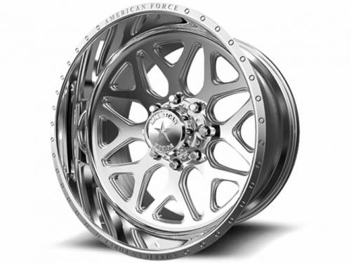 "American Force Wheels - American Force Sprint SS Wheel, 22""x12"", 8""x170"" (Mirror Polished Finish)"