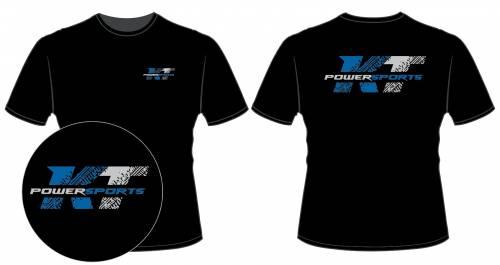 KT Powersports T-Shirt, Black (Medium)