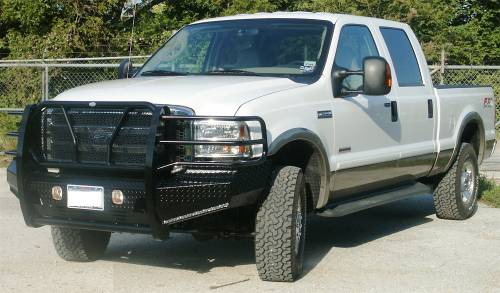 Frontier Truck Gear - Frontier Original Front Bumper Replacement, Ford (2005-07)F-250, F-350, F-450, F-550, &(05') Excursion