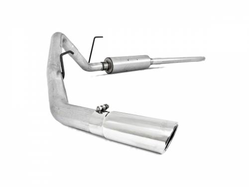 MBRP - MBRP Cat Back Exhaust, Ford (2004-08) F-150, 4.6L & 5.4L, Ec/Cc-Sb, Single Side Exit, Aluminized