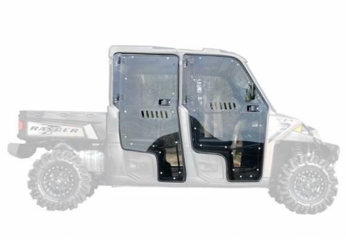 SuperATV - Polaris Ranger Cab Enclosure Doors (4 Door) Full Doors (Vented)