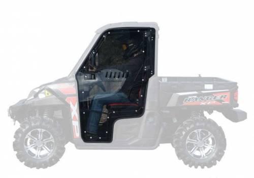 SuperATV - Polaris Ranger Cab Enclosure Doors (2 Door) Full Doors (Vented)