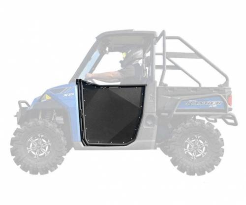 SuperATV - Polaris Ranger XP 900 Aluminum Half Doors (Front Doors -2)