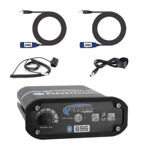 Rugged Radios - Rugged Radios RRP696 2 Person Bluetooth Intercom Builder Kit
