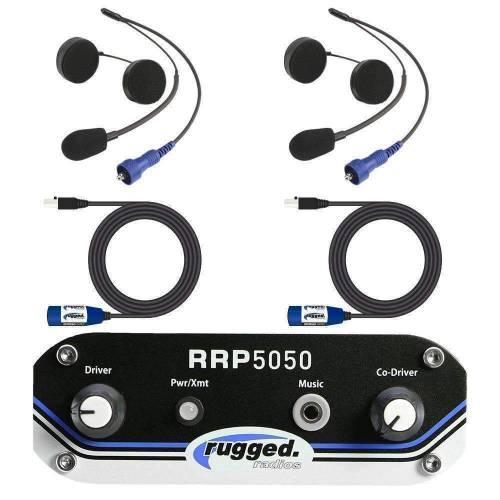 Rugged Radios - Rugged Radios RRP5050 2 Person Helmet Kit System
