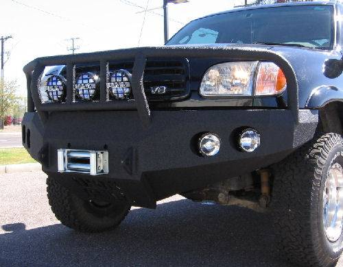 iron bull front bumper toyota 2000 02 tundra. Black Bedroom Furniture Sets. Home Design Ideas