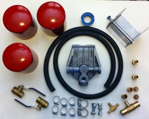 Dfuser - Dfuser Coolant Filter Kit, Ford (2003-07) 6.0L Power Stroke (includes 1 filter)