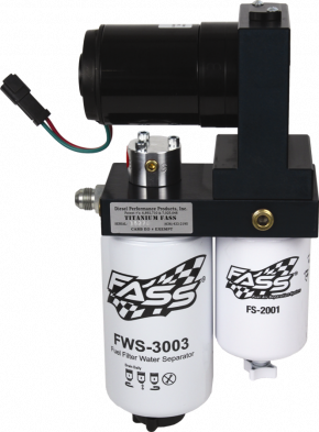 FASS Diesel Fuel Systems - FASS Titanium Series Fuel System, Ford (1999-04) 7.3L & 6.0L Power Stroke, 95gph (stock-360hp) assist pump