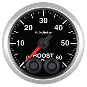 Autometer - Auto Meter Elite Series, Boost Pressure 60psi