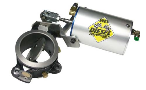 """BD Power - BD Power Exhaust Brake, Ford (1983-94) 6.9/7.3L idi Diesel with 3"""" exhaust"""