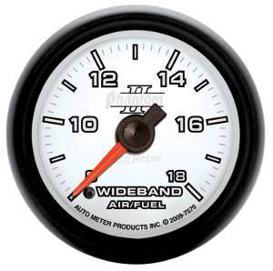 Autometer - Auto Meter Phantom II Series, Air/Fuel Ratio-Wideband Analog (Full Sweep Electric)