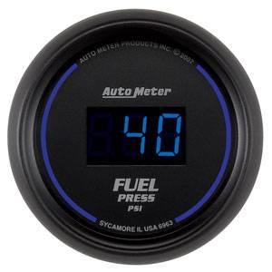 Autometer - Auto Meter Colbalt Digital Series, Fuel Pressure 0-100psi