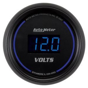 Autometer - Auto Meter Colbalt Digital Series, Voltmeter 8-18 Volts