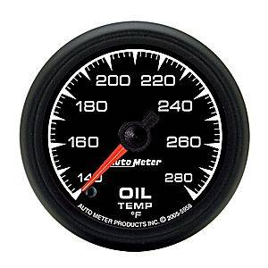 Autometer - Auto Meter ES Series, Oil Temperature 140*-280*F (Full Sweep Electric)