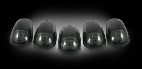 Recon - Recon Cab Roof Lights, Dodge (2003-12) Ram Smoked