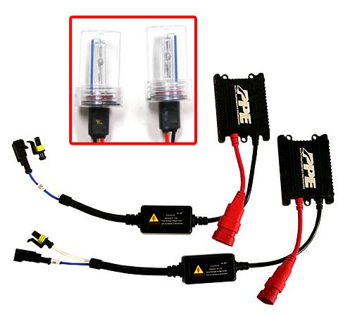 Pacific Performance Engineering - PPE HID Conversion Kit, Dodge (2006-09) Ram 6000K (White/Blue/Purple Mixture)