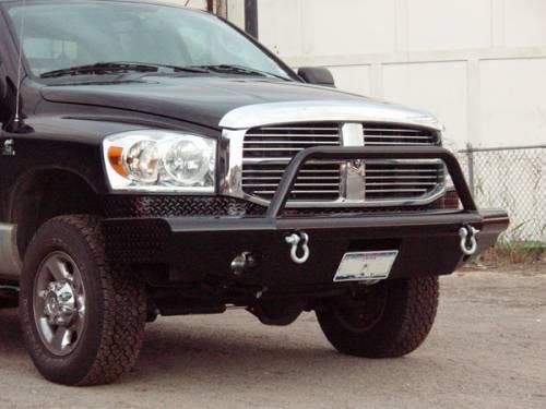Tough Country - Tough Country Custom Apache Front Bumper, Dodge (2003-05) 2500 & 3500