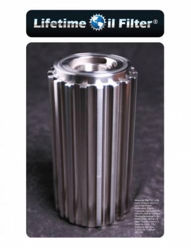 Lifetime Oil Filter - Lifetime Oil Filter, Ford Power Stroke, Light-Meduim Duty