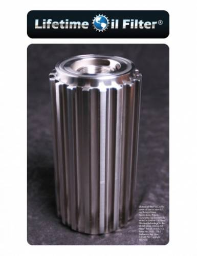 Lifetime Oil Filter - Lifetime Oil Filter, Chevy/GMC (2001-12) 6.6L Duramax, Light-Meduim Duty