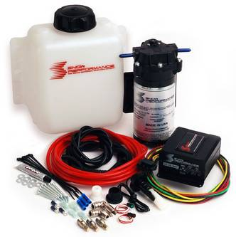 Snow Performance - Snow Performance Water Meth Kit, Stage 2 Roots Blower Boost Cooler, Dual Carb