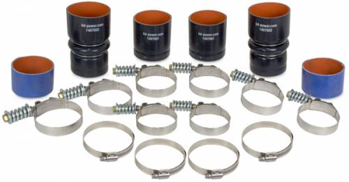 BD Diesel Performance - BD Power Intercooler Hose/Clamp Kit, Ford (1999.5-03) 7.3 Power Stroke