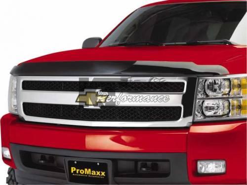 Pro Maxx - Pro Maxx Hood Shield, Chevy (2007-12) Tahoe/Suburban/Avalanche, Smoked