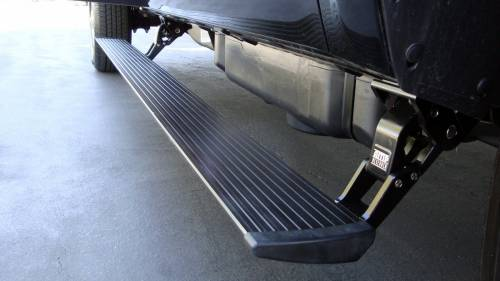 AMP Research - AMP Research Power Step, Chevy Silverado/GMC Sierra (2011-12) CC/EC 2500/3500 HD 6.6L (Black)