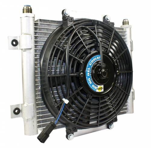 "BD Power - BD Power, Xtrude Trans Oil Cooler, 3/8"" Tubing, 4L80E, 4R100, 5R110 Transmission"