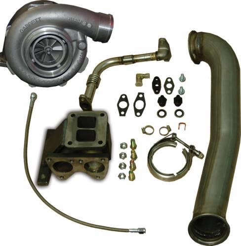Pacific Performance Engineering - PPE GT40R Series Turbo Installation Kit, Chevy/GMC (2001-07) 6.6L Duramax LB7/LLY/LBZ (with GT4088R Turbo)