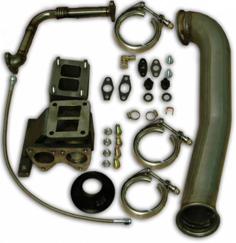 Pacific Performance Engineering - PPE Garrett GT42R Series Turbo Installation Kit, Chevy/GMC (2001-07) 6.6L Duramax LB7/LLY/LBZ