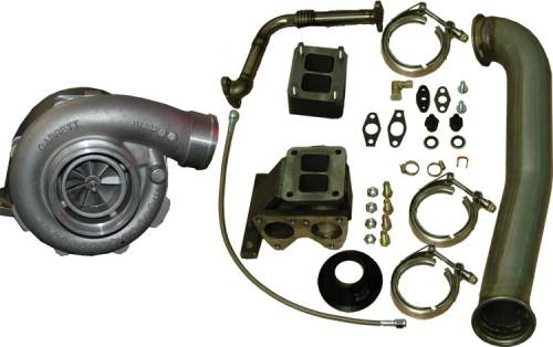 Pacific Performance Engineering - PPE Garrett GT42R Series Turbo Installation Kit, Chevy/GMC (2001-07) 6.6L Duramax LB7/LLY/LBZ (with Turbo)
