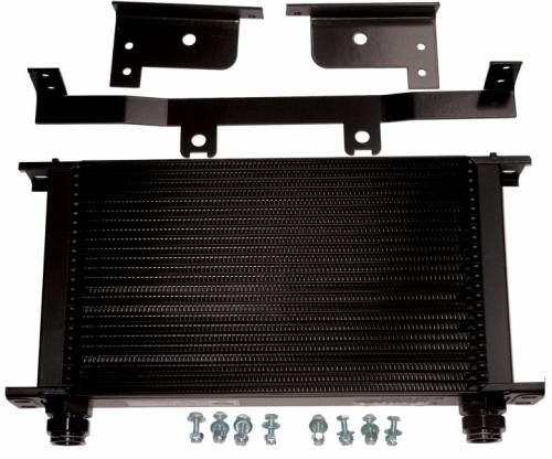 Pacific Performance Engineering - PPE Transmission Cooler, Chevy/GMC (2003-05) 6.6L Duramax (Purple Clips)