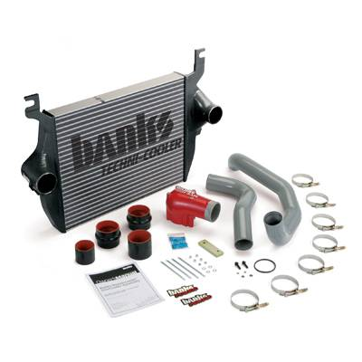 Banks Power - Banks Power Techni-Cooler Intercooler Kit, Ford (2003-04) 6.0L Power Stroke