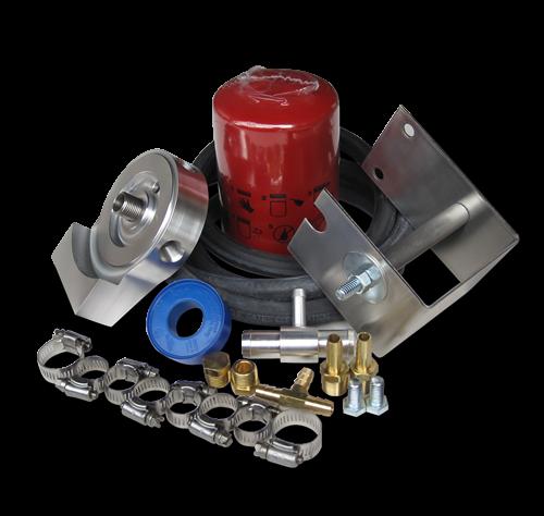 DieselSite - DieselSite Coolant Filtration System, Ford (2003-07) 6.0L Power Stroke, F-250/350/450 & Excursion, Engine Mount