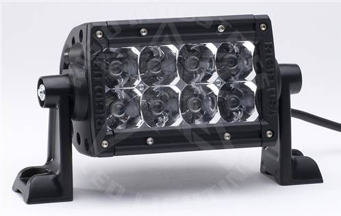 "Rigid Industries - Rigid Industries, 4"" E-Series LED Light Bar, Spot , White"