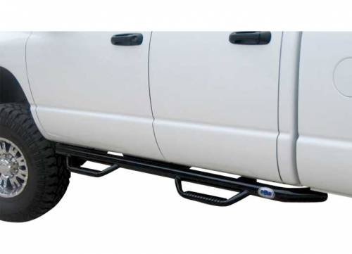 N-Fab - N-Fab Nerf Steps, Chevy/GMC (2007.5-10)1500/2500/3500 Extended/Quad Cab, Cab Only