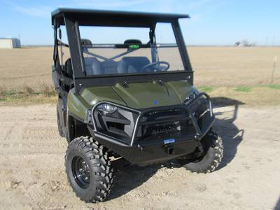 Tough Country - Tough Country Standard UTV Front Bumper, Polaris (2009-13) Polaris Ranger 700/800 (2 psgr), (10-14) 800 (4 psgr) & (11-14) 900 DIESEL