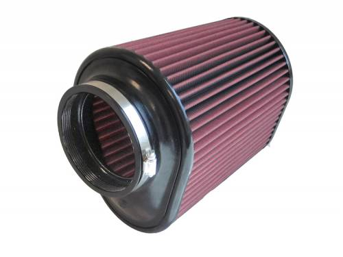 "S&B - S&B Replacement Air Filter(4.5"" Flange, 7.25""x9"" Base, 7.5""x5.75"" Top, 9"" Height) Cleanable, 8-ply Oiled Cotton"